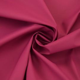 Tissu enduit spécial ciré uni - rose fuchsia x 10cm