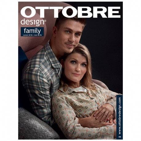 Ottobre Design Family Sewing Pattern - 7/2018