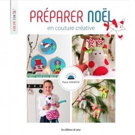 """Livre """"Préparer Noël en couture créative"""""""