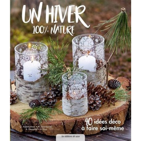 "Livre ""Un hiver 100% nature"""