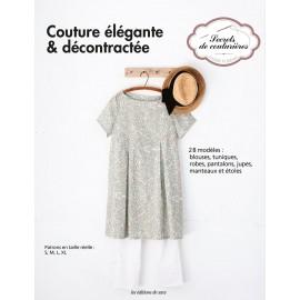 """Livre """"Couture élégante & décontractée"""""""