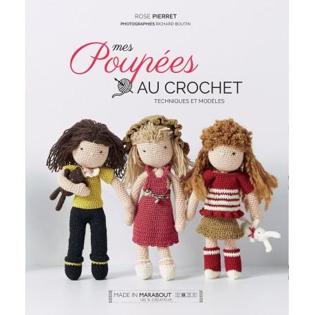 """Book """"Mes poupées au crochet"""""""
