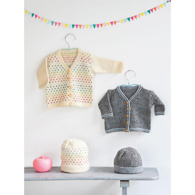livre 9 mois pour tricoter les indispensables de b b. Black Bedroom Furniture Sets. Home Design Ideas