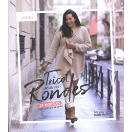 """Book """"Tricot pour les rondes - 25 modèles"""""""