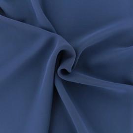 Tissu mousseline crêpe - bleu marine x 50cm