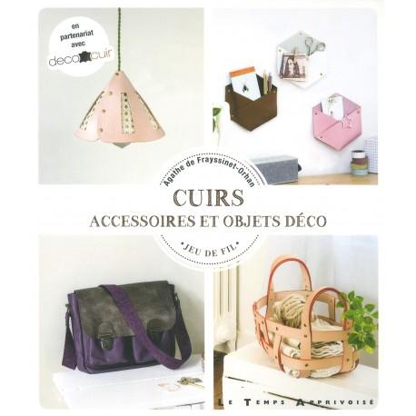 """Livre """"Cuirs - Accessoires et objets déco"""""""
