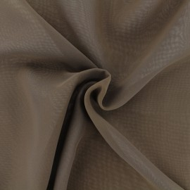 Crepe Muslin Fabric - brown x 50cm