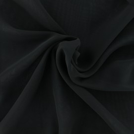 Crepe Muslin Fabric - black x 50cm