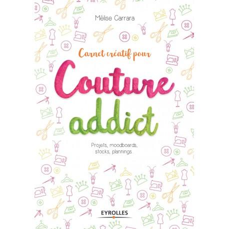 """Livre """"Carnet créatif pour couture addict"""""""