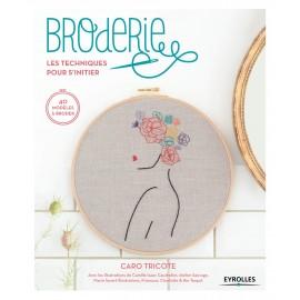 """Livre """"Broderie - Les techniques pour s'initier"""""""