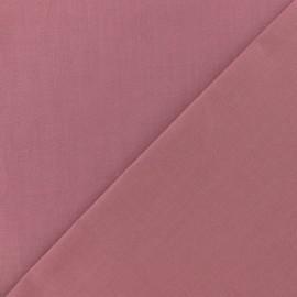 Tissu Coton uni prune clair