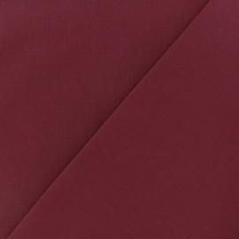Tissu Coton uni grenat
