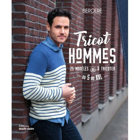 """Book """"Tricot homme - 25 modèles à tricoter"""""""