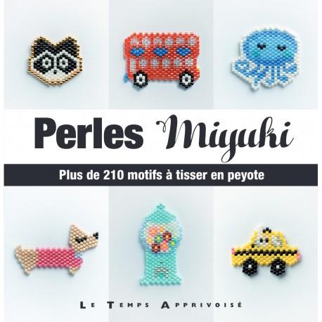 "Livre ""Perles Miyuki - Plus de 210 motifs à tisser en peyote"""
