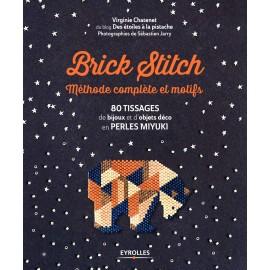 """Livre """"Brick Stitch - Méthode complète et motifs"""""""