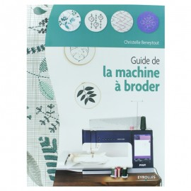 "Livre ""Guide de la machine à broder"""