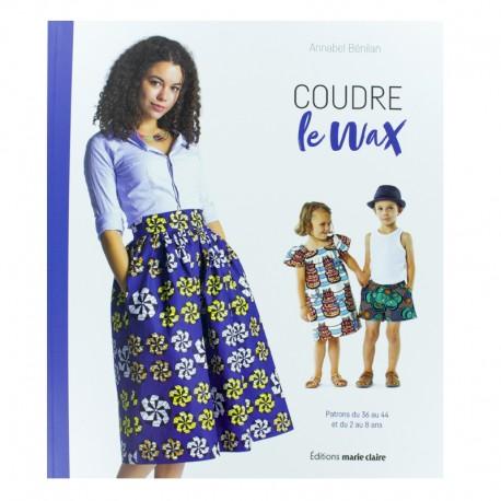 "Book ""Coudre le Wax"""