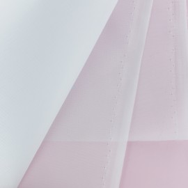 Organdi Tulle fabric - white x 10cm
