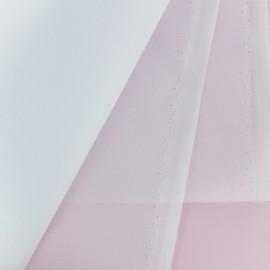 Tissu Organdi Crinoline - blanc x 10cm