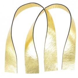 Poignées Ogive métallisé doré jaune