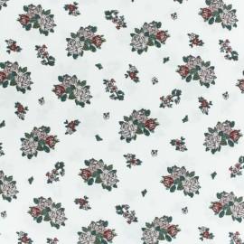 Tissu coton popeline Regent's Park - blanc cassé x 10cm