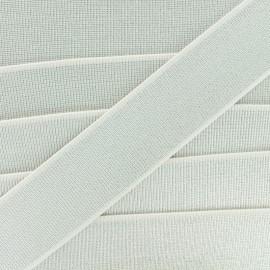 Ruban Élastique Shine Glam' 40 mm - Écru x 1m