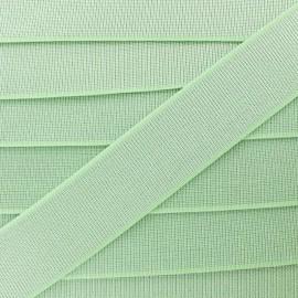 Ruban Élastique Shine Glam' 40 mm - Vert Amande x 1m