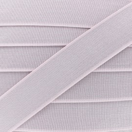 40 mm Belt Elastic Ribbon - Pale Pink Shine Glam' x 1m