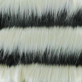 Luxury Fur fabric - Grey Siberia x 10cm