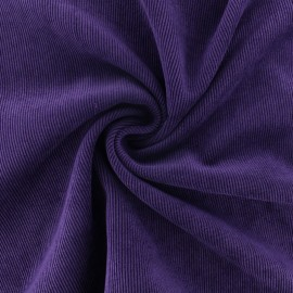 Tissu velours côtelé fluide Billie - rose pâle x 10cm