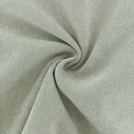 Tissu velours côtelé fluide Billie - beige clair x 10cm