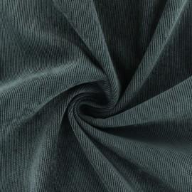 Tissu velours côtelé fluide Billie - Taupe x 10cm