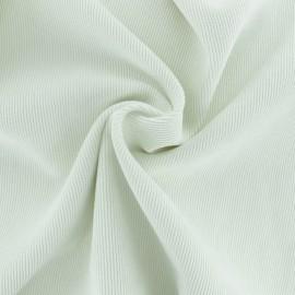Ribbed velvet fabric - off-white Billie x 10cm