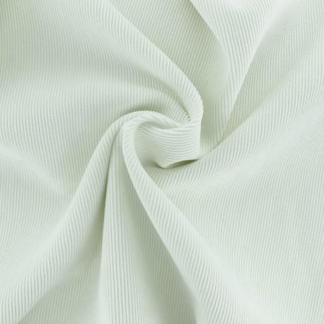 Tissu velours côtelé fluide Billie - blanc cassé x 10cm