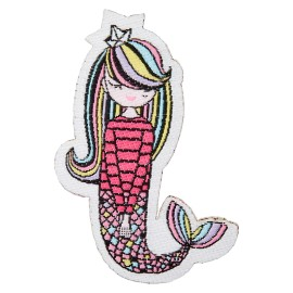 Lovely Mermaid Iron-On Patch