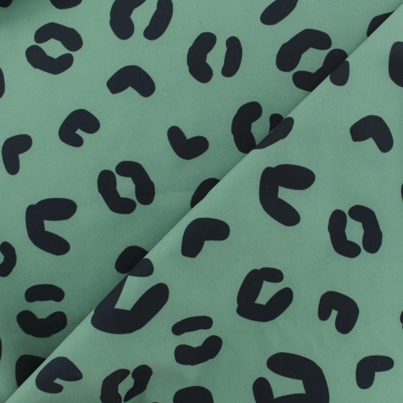 9884a606c7 Tissu lycra: Tissu lycra maillot de bain Léopard - vert kaki - MPM