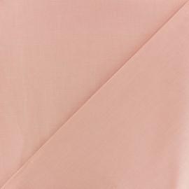 Cotton Fabric - cotton Salmon pink x 10cm
