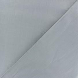 Tissu Coton uni - gris Tourterelle x 10cm