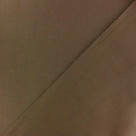 Tissu Coton uni - cannelle x 10cm