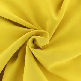 Tissu crêpe uni - Rose clair x 10cm