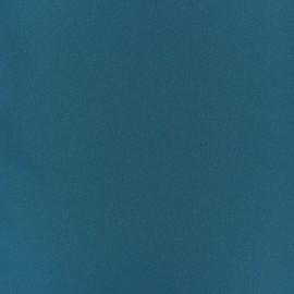 Tissu Crêpe Chemisier - bleu canard  x 10cm