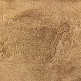 Fur fabric - Coffee Moresby x 10cm
