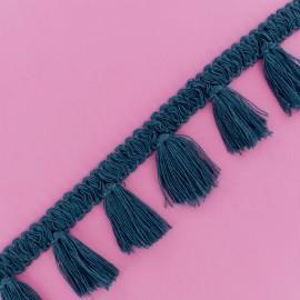 Ruban Galon Passementerie Antoinette - Bleu Paon x 1m