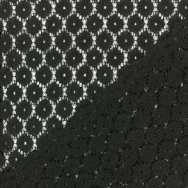 Lace Fabric Anna - Dark blue x 10cm