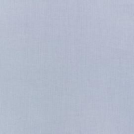 Tissu Coton uni gris bleuté x 10cm