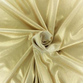 Tissu Lycra lurex - argent x 10cm