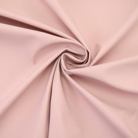 Tissu enduit spécial ciré uni - vieux rose x 10cm