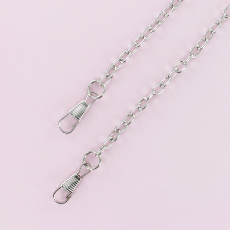 Purse Chain - Silver Macha