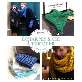 "Livre ""Echarpes & cie à tricoter"""