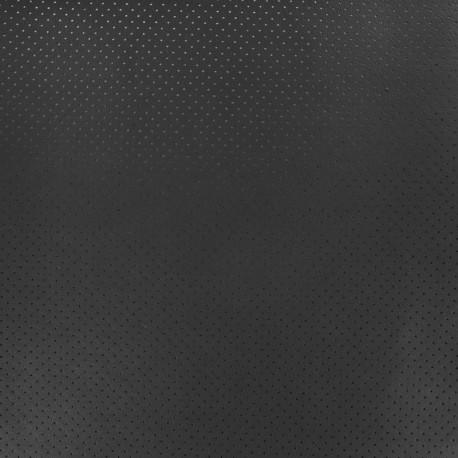 Perforated Lambskin Genuine Leather - Black Avira